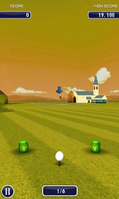 Simulation Golf 3D for smartphone