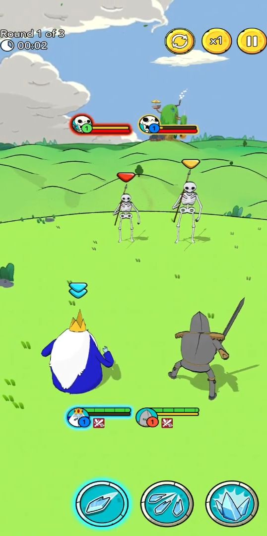 Adventure Time Heroes para Android