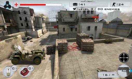 Strike shooting: SWAT force capture d'écran