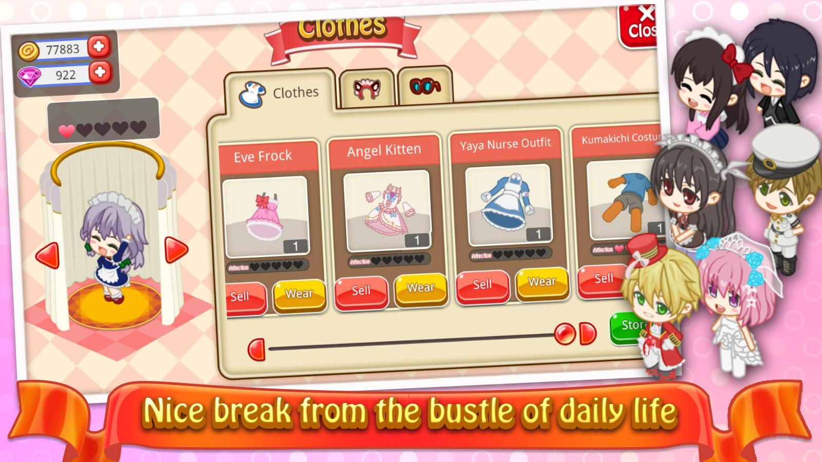 Download Game Moe Girl Cafe 2