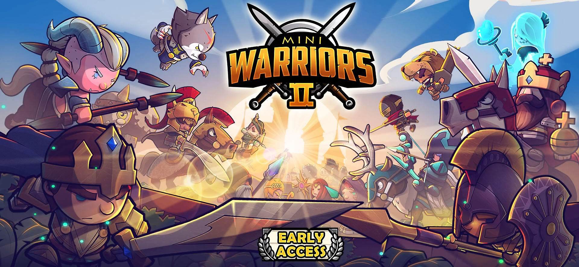 Mini Warriors 2 - Idle Arena for Android