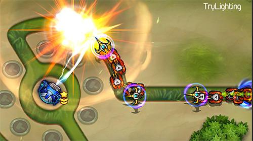 Strategie Tower defense: Galaxy legend für das Smartphone