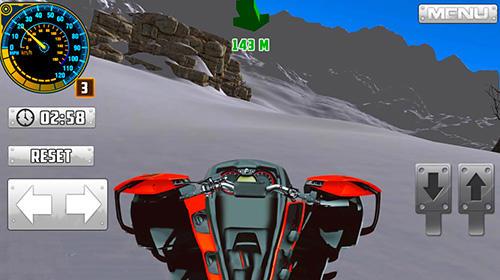 Rennspiele ATV snow simulator für das Smartphone