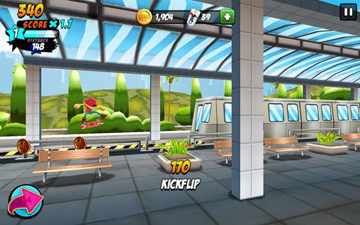 Epic skater for iPhone