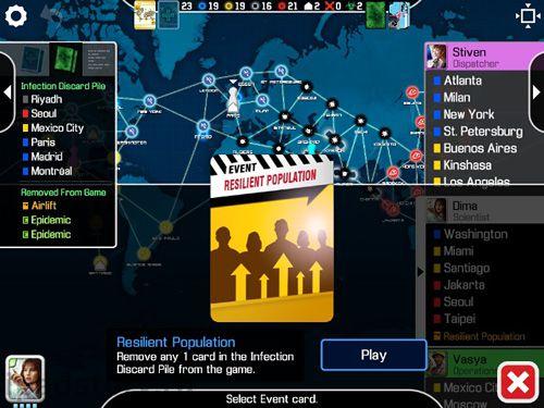 Screenshot Pandemic: Das Brettspiel auf dem iPhone