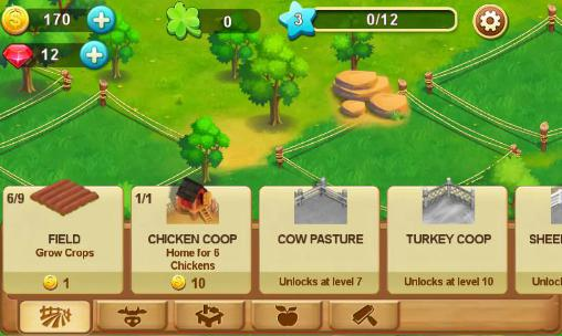 Simulation games Barn story: Farm day for smartphone