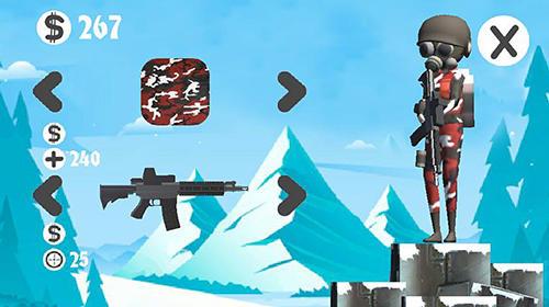 Actionspiele Winter operation für das Smartphone