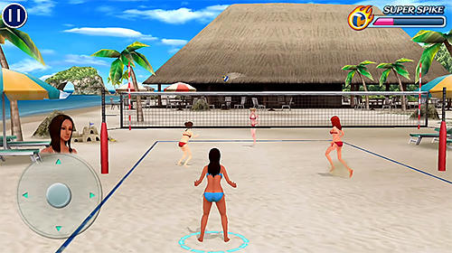 Beach volleyball paradise für Android