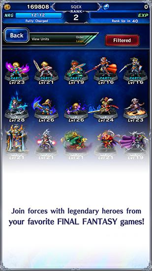 Final fantasy: Brave Exvius für Android