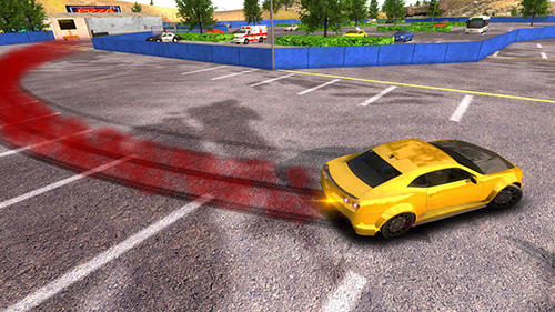 Carreras Drift car city simulator para teléfono inteligente