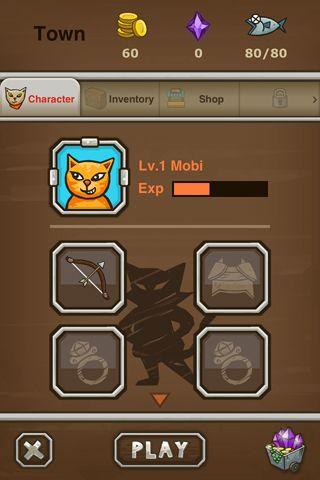 Screenshot Katzen Schütze auf dem iPhone