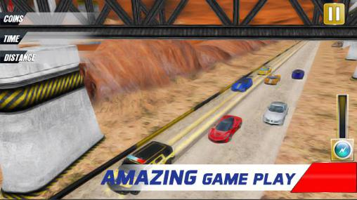Extreme police car racer Screenshot
