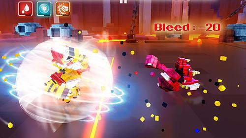 Kampfspiele Super pixel heroes für das Smartphone
