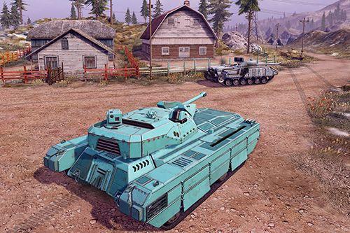 Screenshot Unendliche Panzer auf dem iPhone