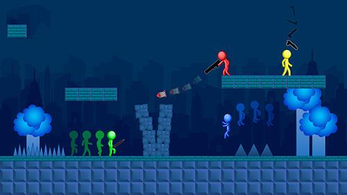 Stick man game screenshot 1