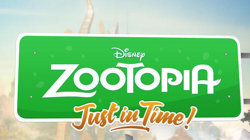Disney. Zootopia: Just in time! Symbol