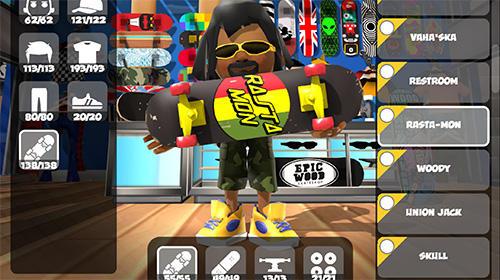 Arcade-Spiele Epic skater 2 für das Smartphone