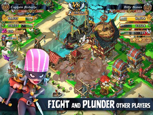 Jogos online: faça o download de Assalto de piratas para o seu telefone