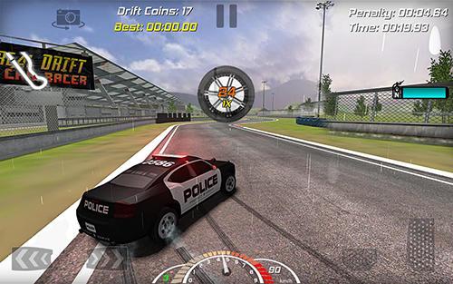 Rennspiele Real drift car racer für das Smartphone
