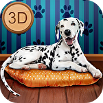 My dalmatian dog sim: Home pet life Symbol