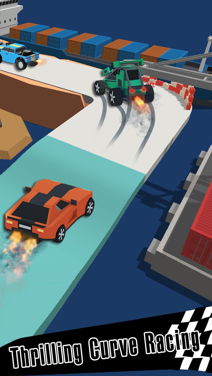 Drift Race 3D Screenshot-Spiel