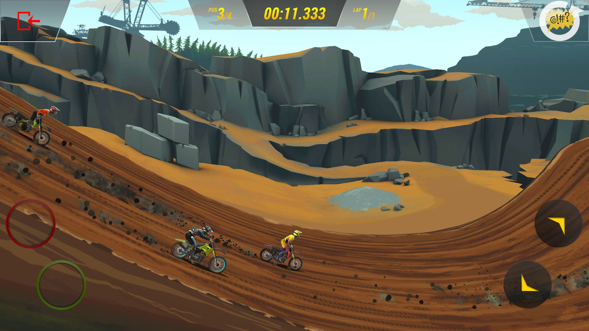 Mad Skills Motocross 3 скриншот 1