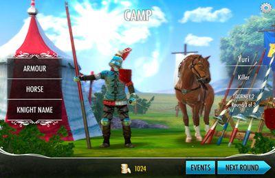 Arcade-Spiele: Lade Ritter-Tournier auf dein Handy herunter