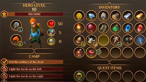 RPG-Spiele Quest hunter für das Smartphone