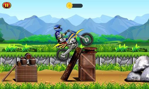 Arcade-Spiele Trail dirt bike racing: Mayhem für das Smartphone