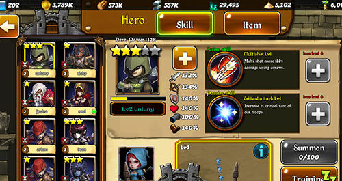 Online games Conquerors: Winds of chaos for smartphone
