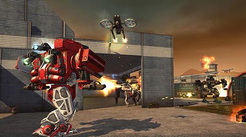 WWR: World of warfare robots für Android