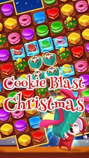 Cookie blast: Christmas icon