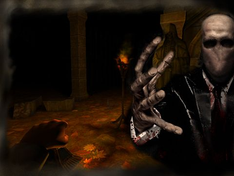 Screenshot Slender man: Origins on iPhone