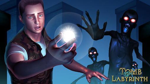 Tomb labyrinth icon
