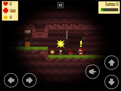 Arcade-Spiele: Lade Schurken Helden auf dein Handy herunter