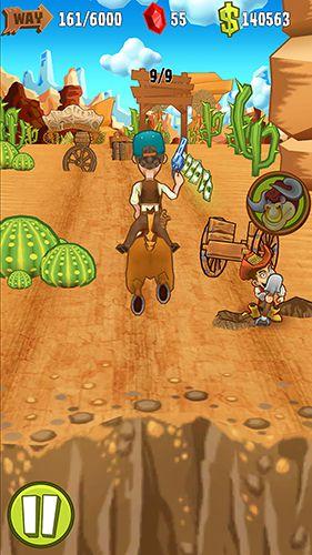 Arcade-Spiele: Lade Schieß und Lauf: Western auf dein Handy herunter