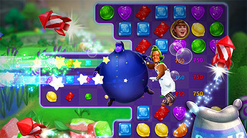 Willy Wonka's sweet adventure: A match 3 game für Android