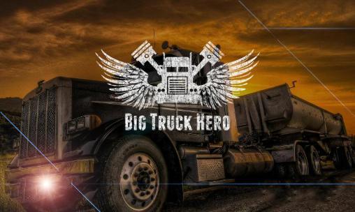 Big truck hero: Truck driver Screenshot
