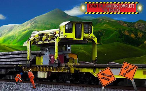 Train games: Construct railway in English