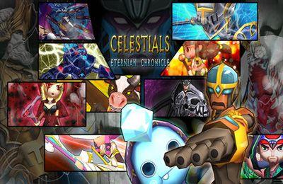 Kampfspiele: Lade Celestials: Die ewige Geschichte auf dein Handy herunter