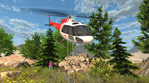 Helicopter rescue simulator auf Deutsch