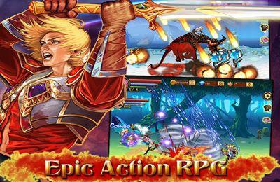 Multiplayerspiele: Lade Schwert des Inferno auf dein Handy herunter