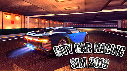 City car racing simulator 2019 captura de tela 1