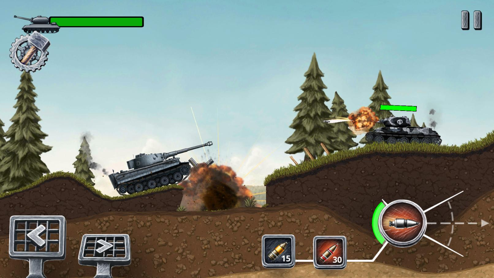 Front Line Hills: Tank Battles для Android