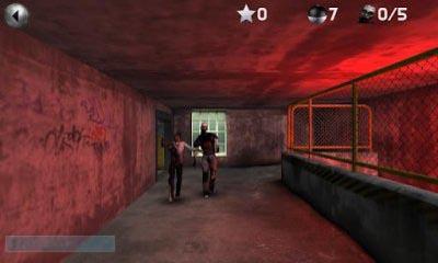 Juegos de arcade Zombie Defense para teléfono inteligente