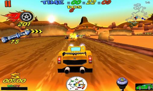 Cartoon racing für Android