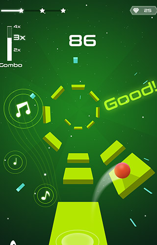 Magic twist: Twister music ball game para Android