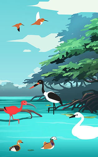 Birdstopia: Idle bird clicker für Android