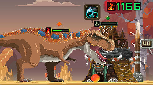 Pixel Tiny dino world: Return auf Deutsch