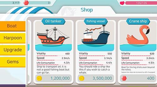 Arcade Fishing adventure für das Smartphone